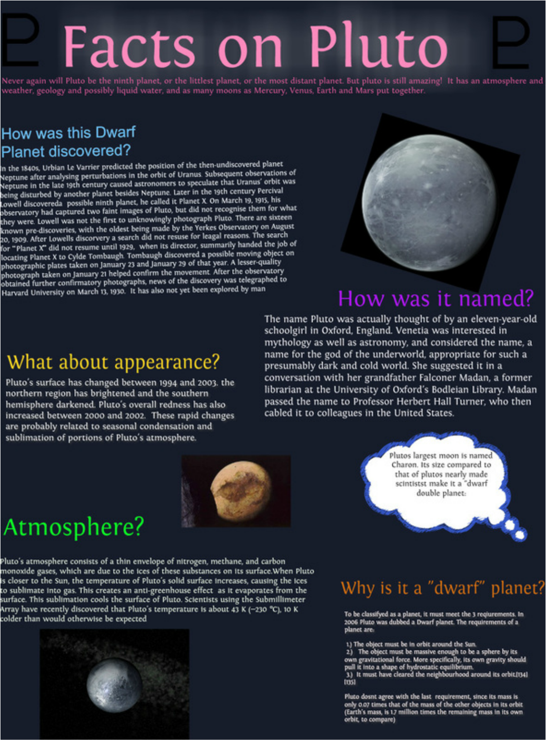 Pluto Has A Heart Love Him Back: Some Facts About Pluto